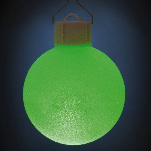 5 LED Dekokugeln mit Fernbedienung wachs-weiss - ∅ 65mm-446