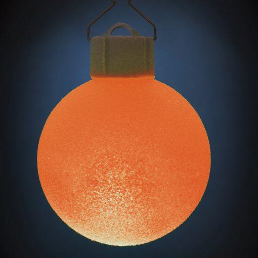 5 LED Dekokugeln mit Fernbedienung wachs-weiss - ∅ 65mm-441