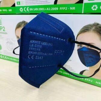 FFP2 COVID 19 Maske farbig blau